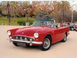 1962 Sunbeam Alpine Red Francis Borg