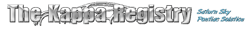 The Kappa Registry